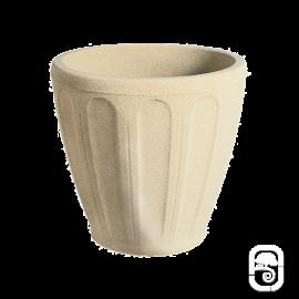 Pot rond R6 pierre classique - Ø 47 cm