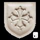 Écusson Toulouse en pierre reconstituée vieillie