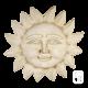 Soleil en pierre reconstituée patinée