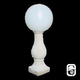 Luminaire Goutte d'eau ton pierre - H 78cm