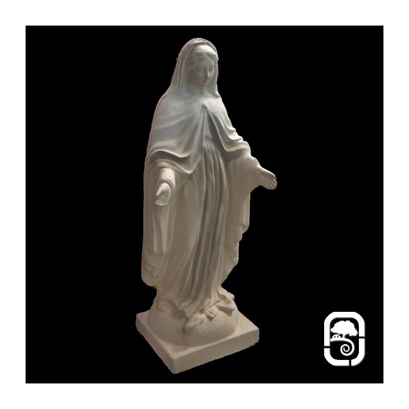 Statue vierge marie ton vieilli h 86cm for Statue vierge marie pour exterieur