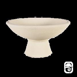 Pied pour Coupe 108 béton pressé blanc - H 23cm