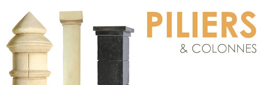 colonnes et piliers artisanaux 2. Black Bedroom Furniture Sets. Home Design Ideas