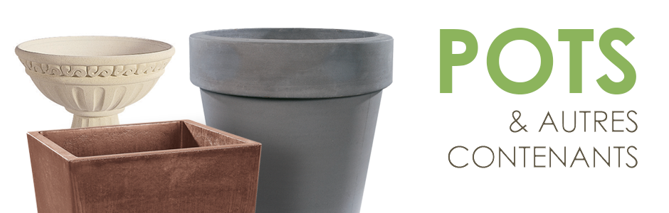 grands pots pour arbustes. Black Bedroom Furniture Sets. Home Design Ideas
