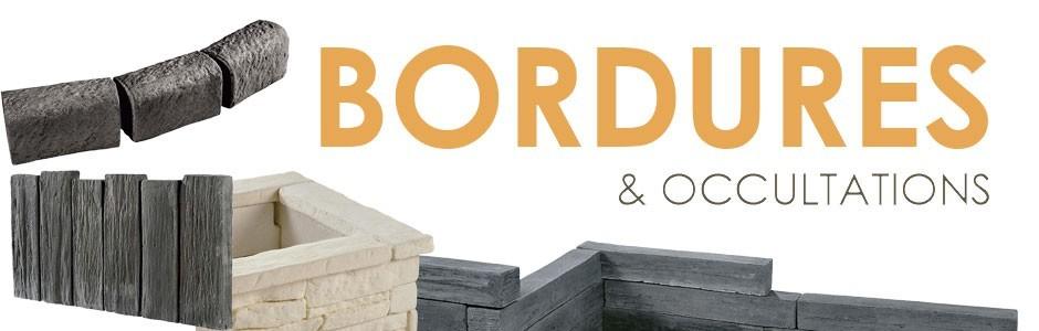 Bordures et murets en pierre reconstituée (2) - Jardinoa.fr