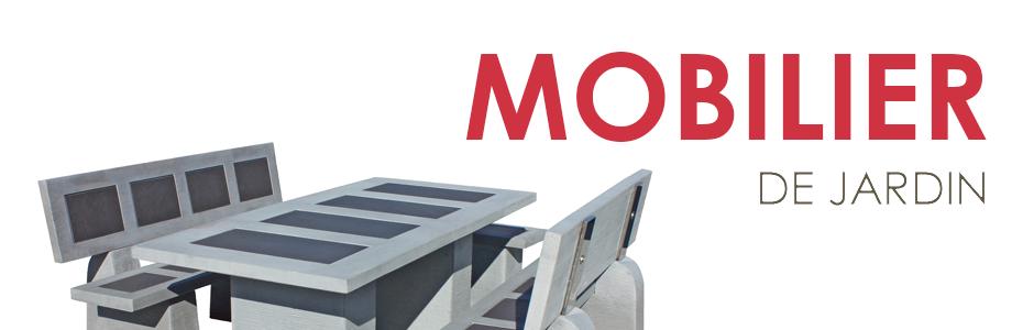 Salons de jardin tables et bancs en pierre reconstitu e - Table de jardin en pierre reconstituee ...