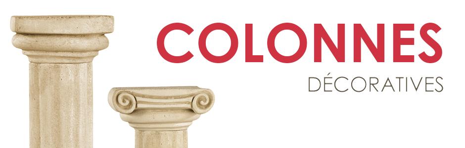 Colonnes décoratives